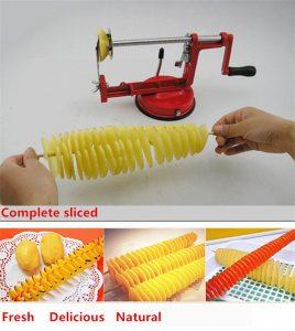 Спиральная картофелерезка - нужное устройство на кухне.